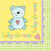 Nursery Friends Baby Shower Luncheon Napkins (16) - Party Zone USA