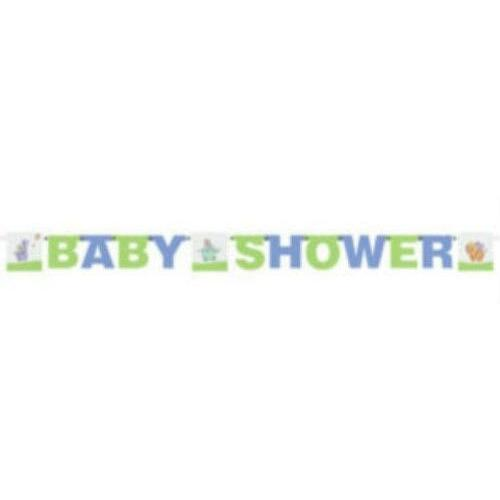 Nursery Parade Baby Shower Jointed Party Banner - Party Zone USA