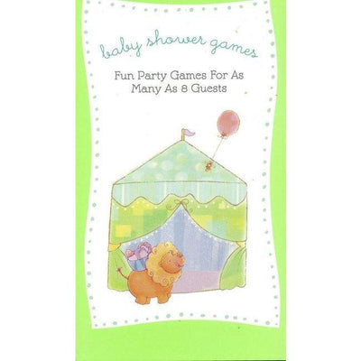 Nursery Parade Baby Shower Party Game Book - Party Zone USA