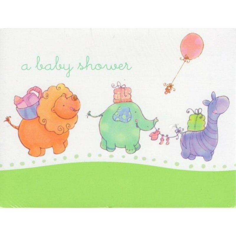 Nursery Parade Party Shower Invitations (8) - Party Zone USA