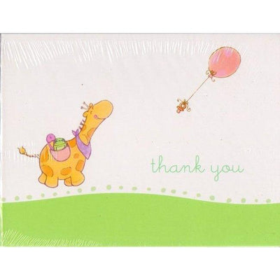 Nursery Parade Party Shower Thank You Cards (8) - Party Zone USA