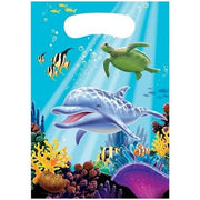 Ocean Party Favor Loot Bags (8) - Party Zone USA