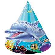 Ocean Party Hats (8) - Party Zone USA