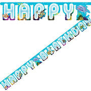 Ocean Party Jointed Banner - Party Zone USA