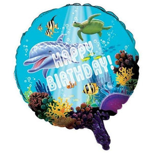 Ocean Party Mylar Balloon - Party Zone USA