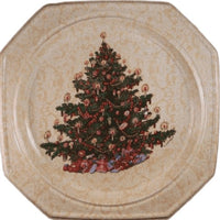 Old Fashion Christmas Tree Party Tray - Party Zone USA