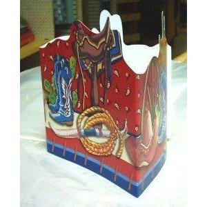 Out West Tri-Fold Centerpiece - Party Zone USA