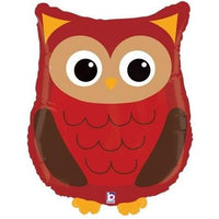 Owl Woodland Critters Balloon - Party Zone USA