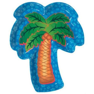Palm Tree Shaped Serving Tray - Party Zone USA