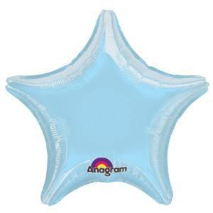 Pastel Blue Star Shaped Balloon - Party Zone USA