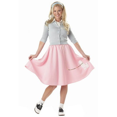 Pink Poodle Skirt - Women's - Party Zone USA