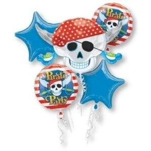Pirate Party Balloon Bouquet - Party Zone USA