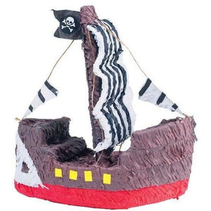 Pirate Ship Pinata - Party Zone USA