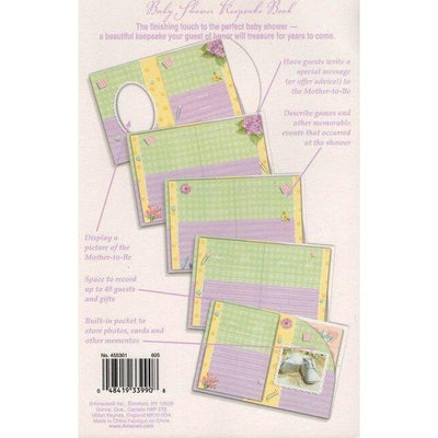Pitter Patter Baby Shower Keepsake Book - Party Zone USA