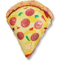 Pizza Slice Mylar Balloon - Party Zone USA