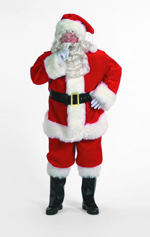 Professional Santa Suit Christmas Costume - Party Zone USA