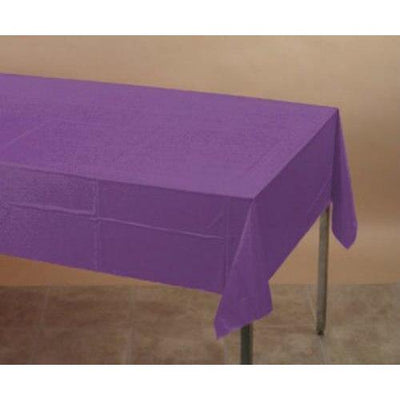 Purple Table Cover - Party Zone USA