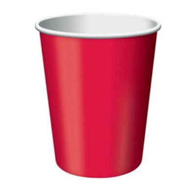 Red 9oz Party Cups (24) - Party Zone USA