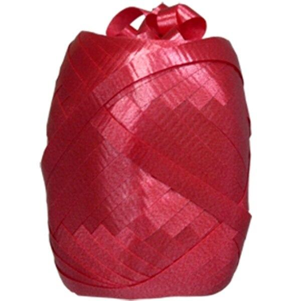 RED Curling Ribbon Egg (75 ft.) - Party Zone USA