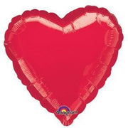 Red Heart Shaped Balloon - Party Zone USA