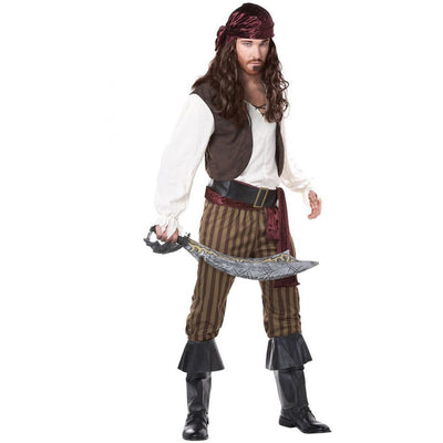 Rogue Pirate Men's Costume - Party Zone USA