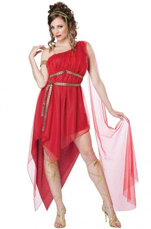 Ruby Goddess Adult Costume - Women's - Party Zone USA