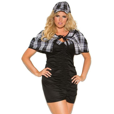Sassy Detective Sexy Costume - Plus Size - Party Zone USA