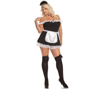 Sexy Maid Dress Costume - Plus - Party Zone USA