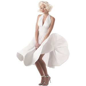 Sexy Marilyn Monroe Dress Costume - Women's - Party Zone USA