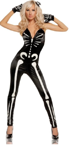 Sexy Skeleton Womens Costume - Party Zone USA
