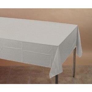Silver Table Cover - Party Zone USA