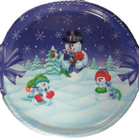Snowman Party Bow Tray - Party Zone USA