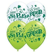 St Patricks Day Balloons (10) - Party Zone USA