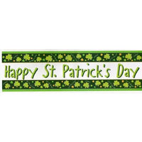 St Patricks Giant Party Banner - Party Zone USA