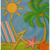 Summer Fun Beverage Napkins (24) - Party Zone USA