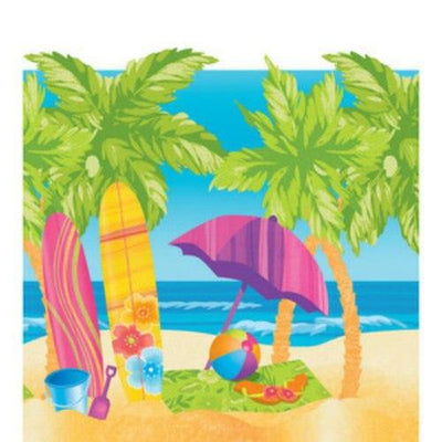 Surf's Up Party Table Cover - Party Zone USA