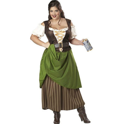 Tavern Maiden Women's Costume - Plus Size - Party Zone USA