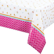 Tea Time Party Table Cover - Party Zone USA