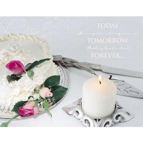 Today, Tomorrow, Forever Wedding Bulletins - Party Zone USA