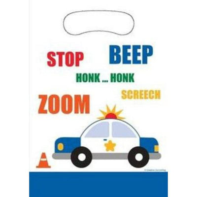 Traffic Jam Favor Loot Bags (8) - Party Zone USA