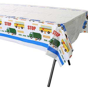 Traffic Jam Table Cover - Party Zone USA