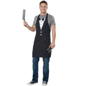 Tuxedo Apron Adult Unisex Costume - Party Zone USA