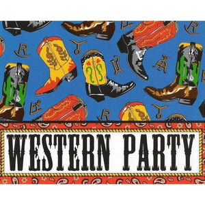 Two Step Western Invitations (8) - Party Zone USA