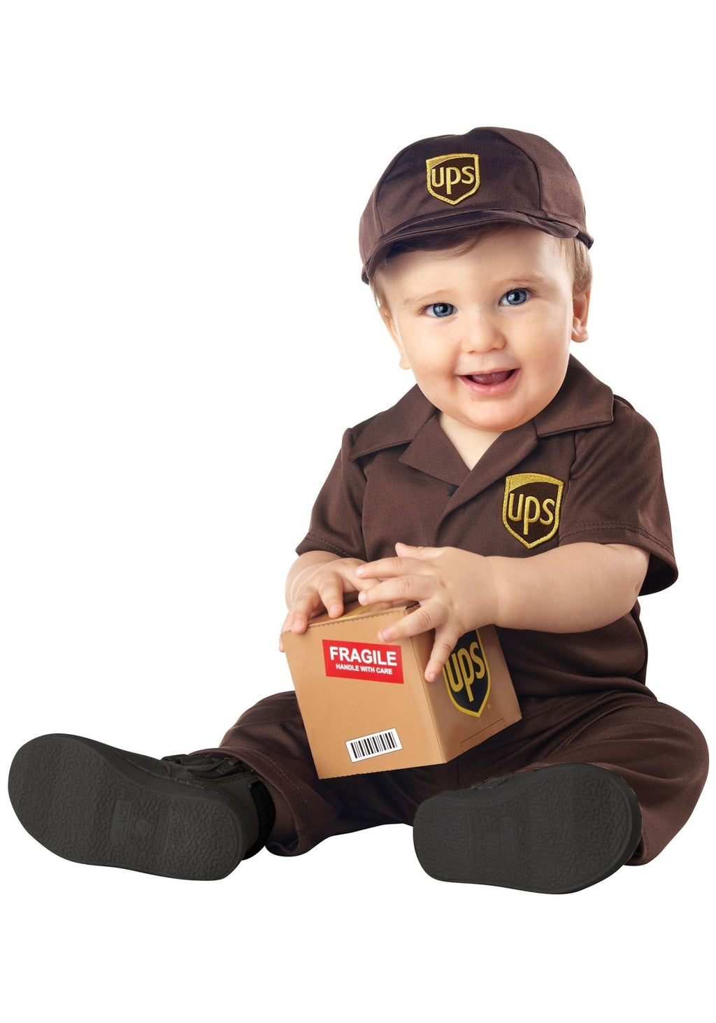 UPS Driver Baby Costume - Party Zone USA