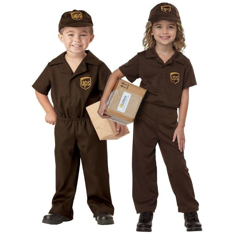 UPS Driver Toddler Costume - Party Zone USA