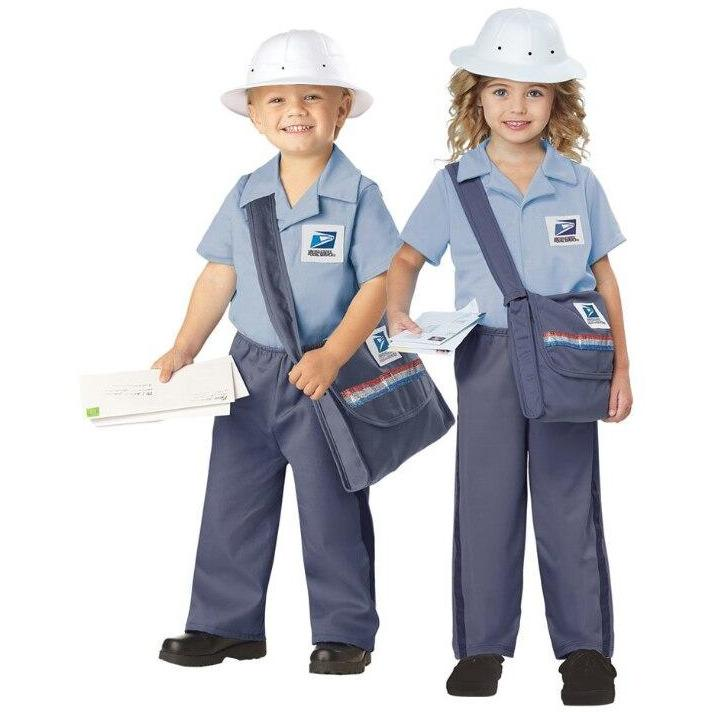 U.S. Mail Carrier Toddler Costume - Party Zone USA