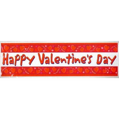 Valentine's Day Giant Party Banner - Party Zone USA