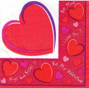 Valentine's Day Sweethearts Beverage Napkins (30) - Party Zone USA