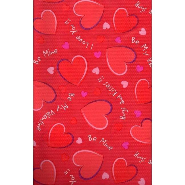 Valentine's Day Sweethearts Table Cover - Party Zone USA