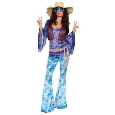 Wild At Woodstock 60s Costume - Women's - Party Zone USA
